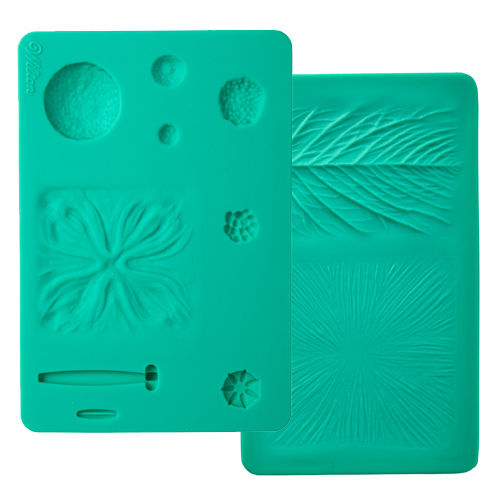 "Wilton ""Flower Impression Mat Set 2tlg."""