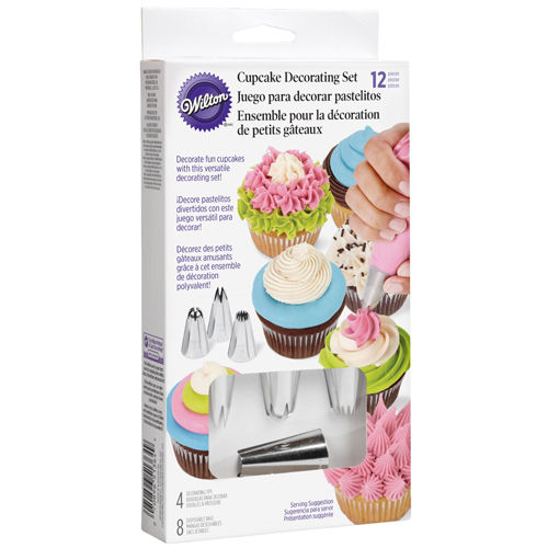 "Wilton ""Cupcake Decorating Set"" 12tlg."