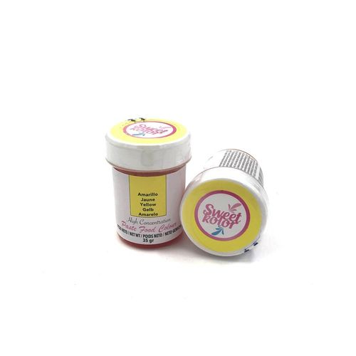 "Sweetkolor Pastenfarbe ""Yellow"" 35g"