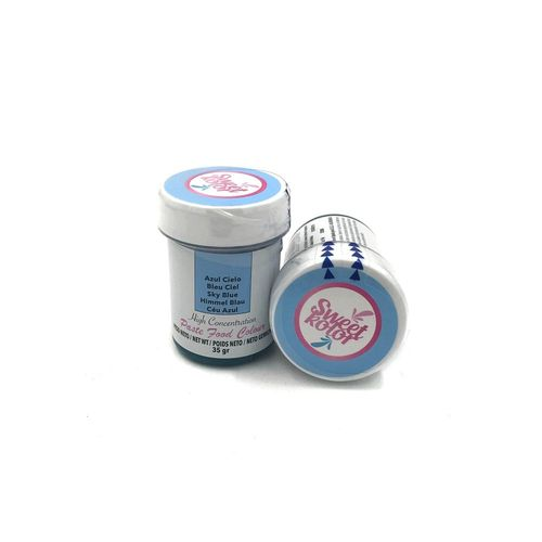 "Sweetkolor Pastenfarbe ""Sky Blue"" 35g"