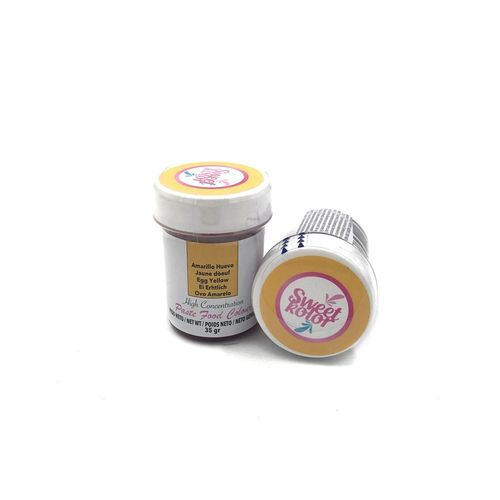"Sweetkolor Pastenfarbe ""Egg Yellow"" 35g"