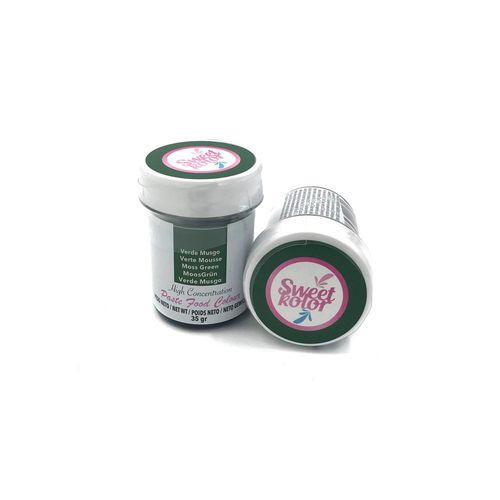 "Sweetkolor Pastenfarbe ""Moss Green"" 35g"