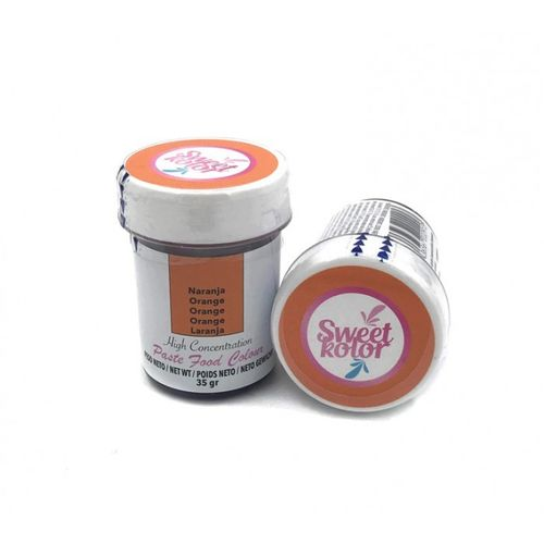 "Sweetkolor Pastenfarbe ""Orange"" 35g"