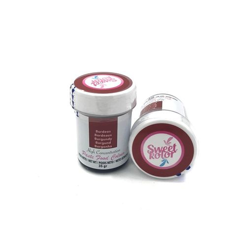 "Sweetkolor Pastenfarbe ""Burgundy"" 35g"